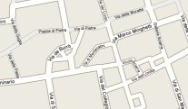[Google map east of Roman Pantheon]