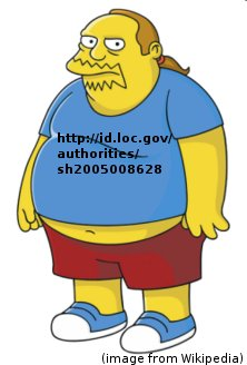 Comic Book Guy with LC URI