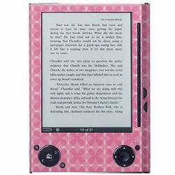 Pink Harlequin Sony Reader