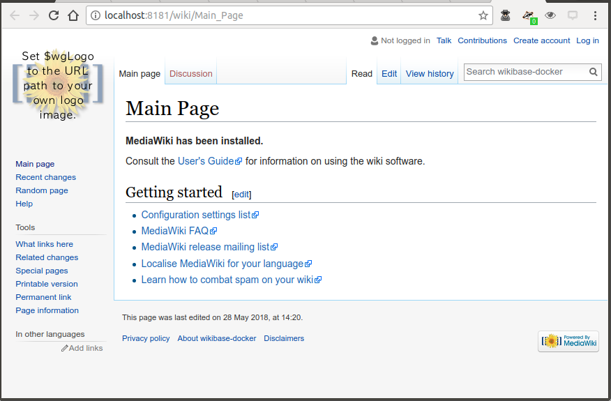Running and querying my own Wikibase instance - bobdc blog